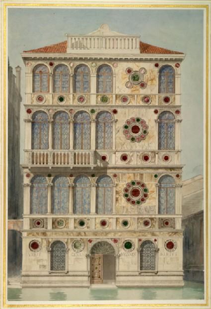The Palazzo Dario, Venice