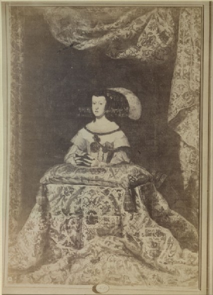 Photograph of Velázquez's 'Portrait of Doña Mariana of Austria at Prayer'