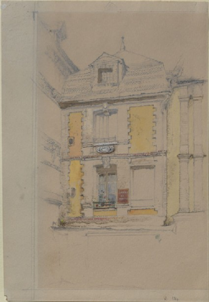 Sketch of 'Modes au Premier', Abbeville