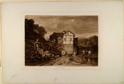 Water Mill (from the Liber Studiorum)