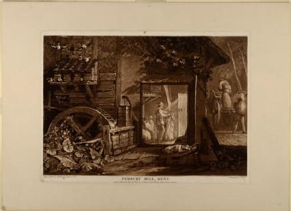 Pembury Mill, Kent (from the Liber Studiorum)