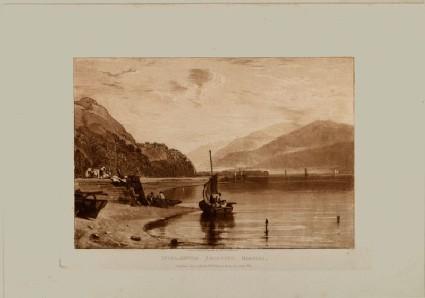 Inverary Pier, Loch Fyne, Morning (from the Liber Studiorum)
