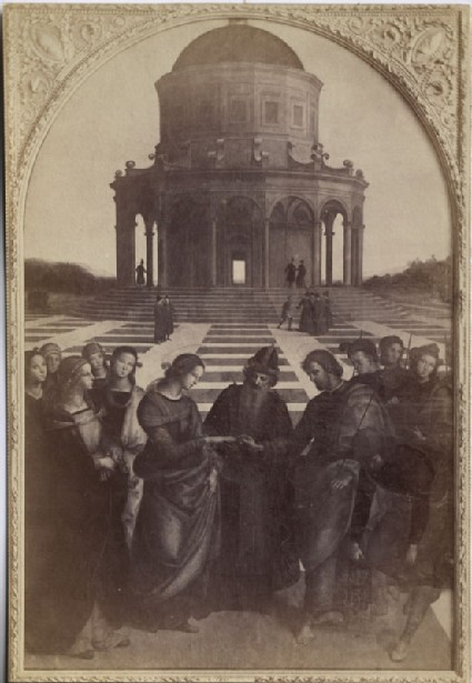 Photograph of Raphael's 'Marriage of the Virgin'