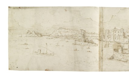 View of Naples from the Bay to the South
