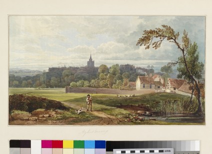 View of Aylesbury, Buckinghamshire