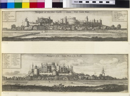 Prospect of Windsor Castle from the west and by south
