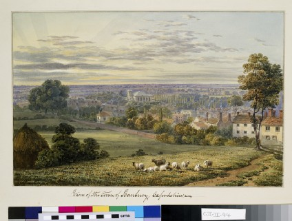 View of the Town of Banbury, Oxfordshire