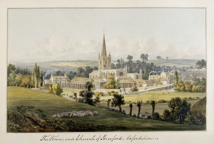 View of Burford, Oxfordshire