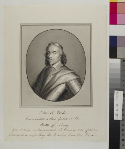 Copy of a Portrait of Colonel Pride