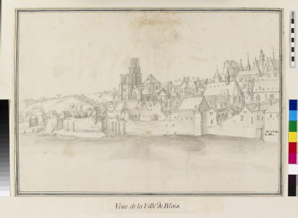 View of Blois from across the River