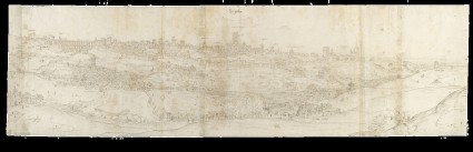 Panoramic View of Segovia from the East