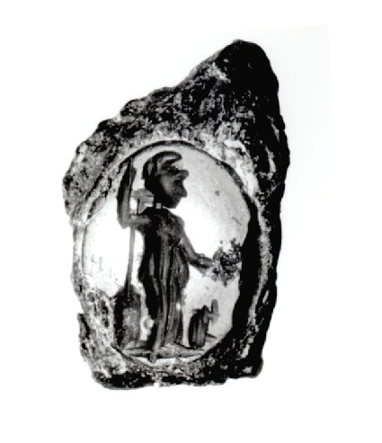 Intaglio gem, Athena