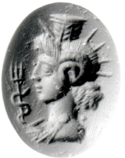 Intaglio gem, Heliosarapis