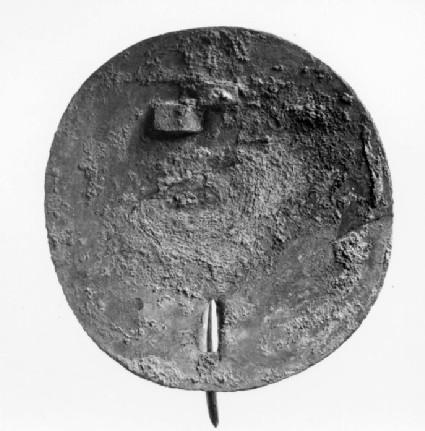 Applied brooch back-plate