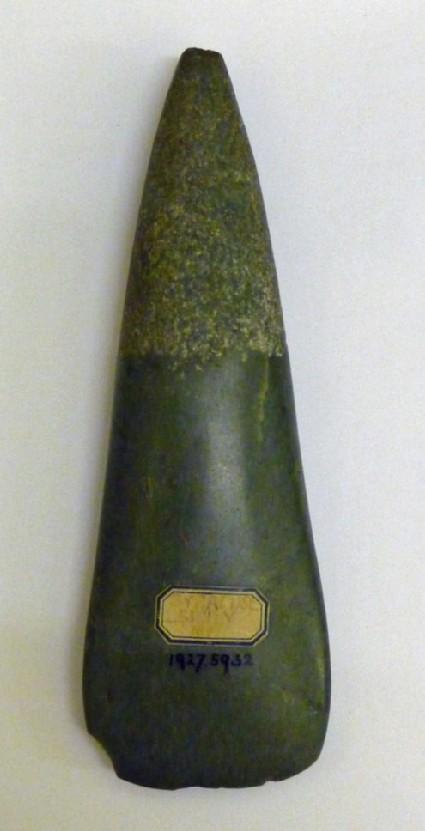 Jadeite axe