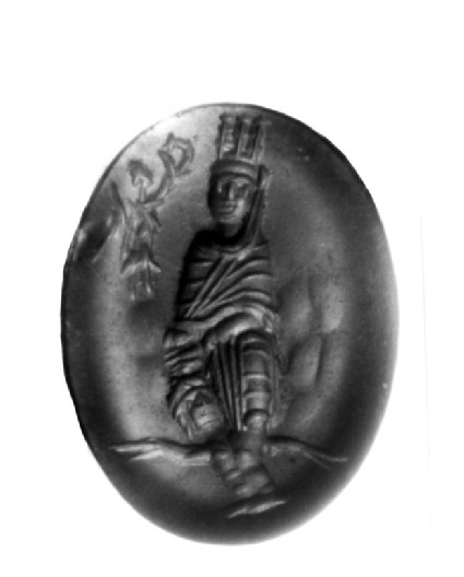 Intaglio gem, Tyche of Antioch