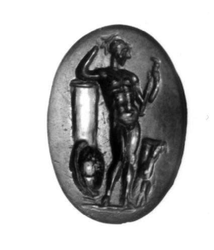 Intaglio gem, Theseus