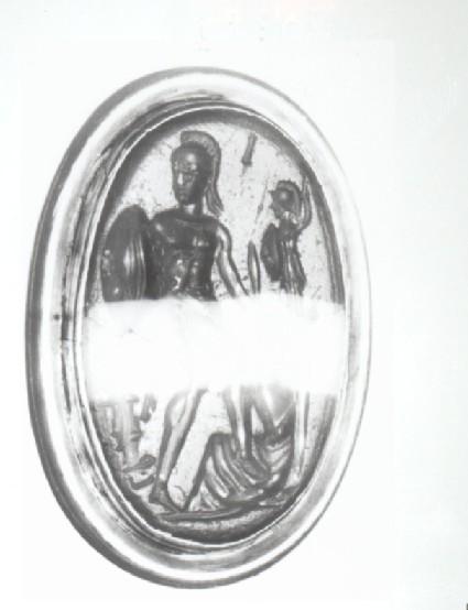 Intaglio gem, Ajax and Kassandra