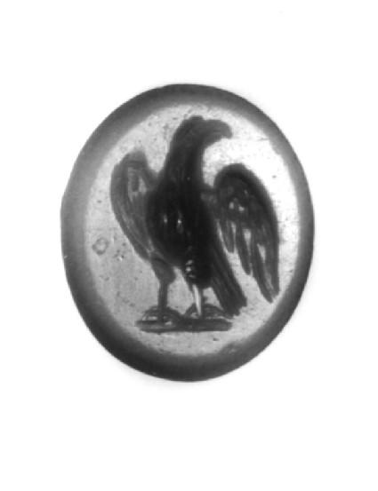 Intaglio gem, eagle