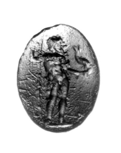 Intaglio gem, Poseidon