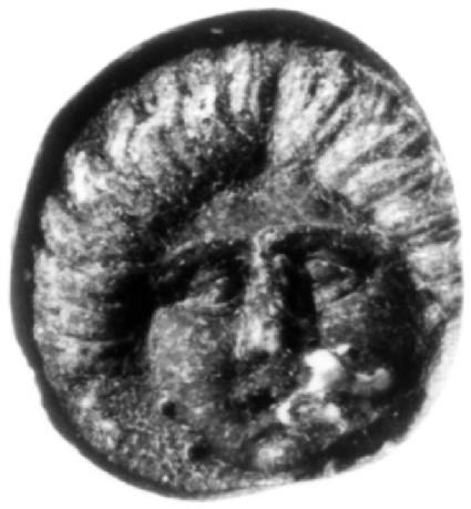 Intaglio gem, head of Medusa