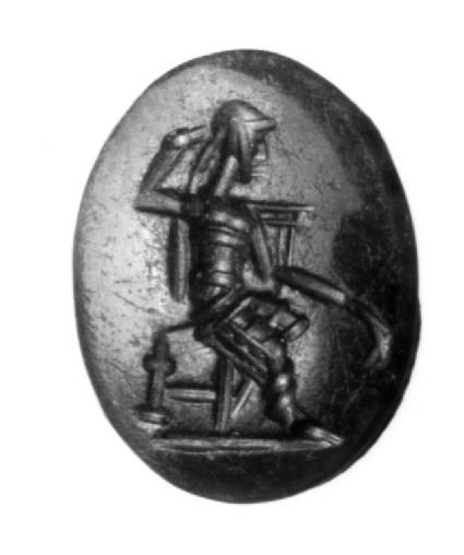 Intaglio gem, Kronos