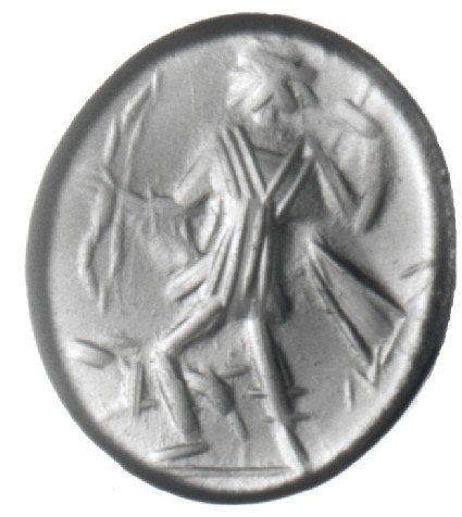 Intaglio gem, Artemis, Diana Venatrix type
