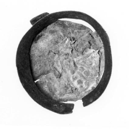 Copper alloy applied brooch