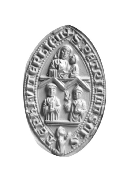 Seal matrix of Pietro, Canon of St Stephen