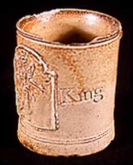 Mug. English stoneware, London Fulham type