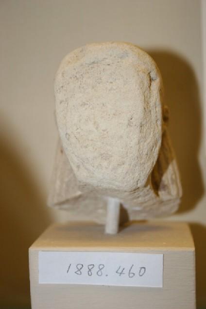 Head of a female statuette