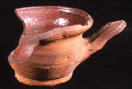 Redware pipkin
