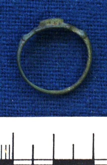 Bronze finger ring