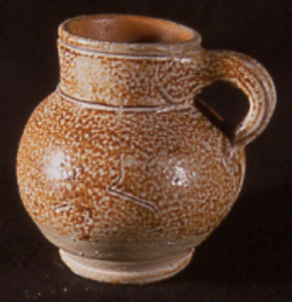 English stoneware drinking vessel