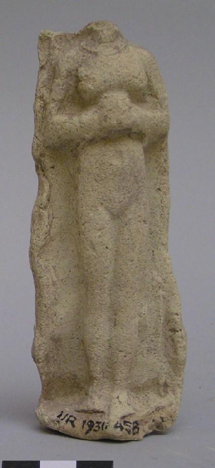 Figurine of a headless woman