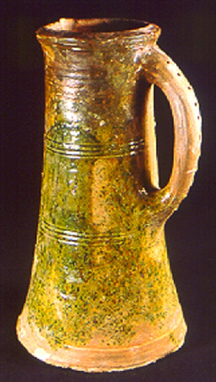 Cylindrical jug