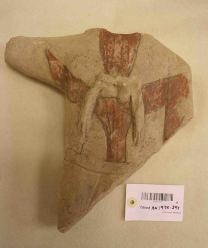 Limestone torso of Herakles-Melqart