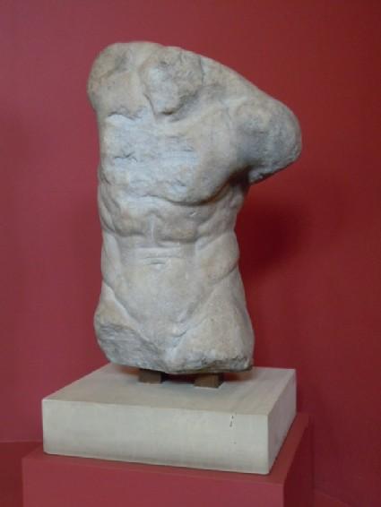 Torso of a satyr (Kroupezion)