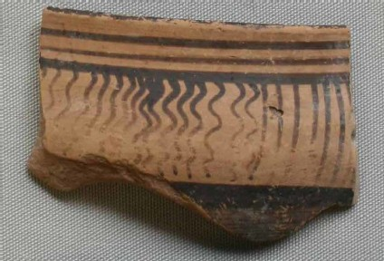 Cup rim and wall fragment