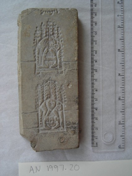 Pilgrim badge mould depicting John Schorne