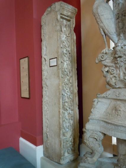 Fragment of pilaster
