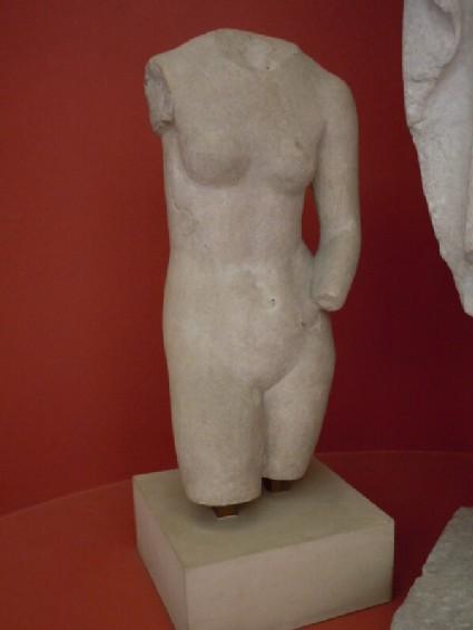 Statue torso of Aphrodite