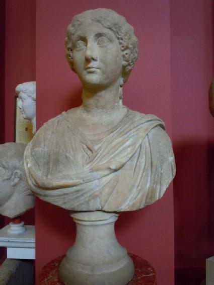Statue head of Antonia, daughter of Mark Antony and Octavia