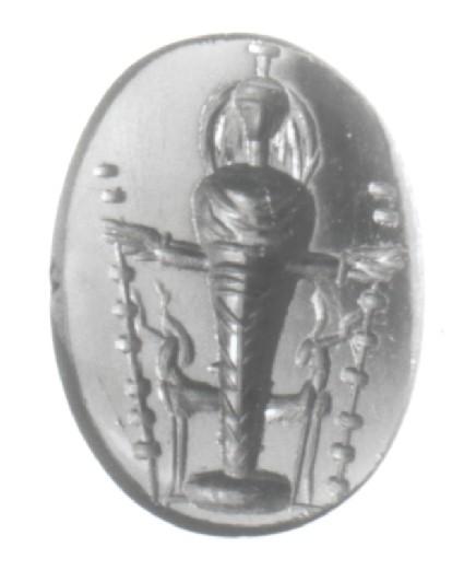 Intaglio gem, Artemis in Ephesian style