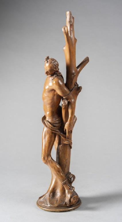 St Sebastian awaiting martyrdom