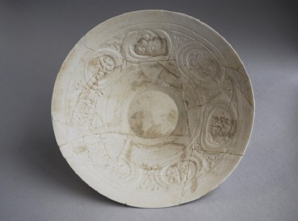 Bowl with roundels and palmettes
