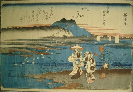 The Noda Jewel River in Mutsu Province