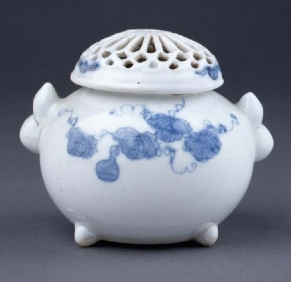 Incense burner (Koro) with flowers