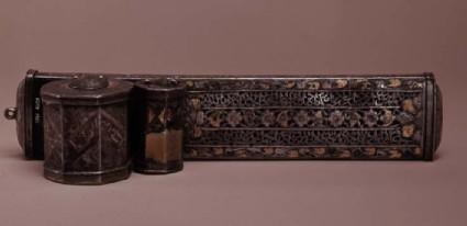 Pen-box with inscription