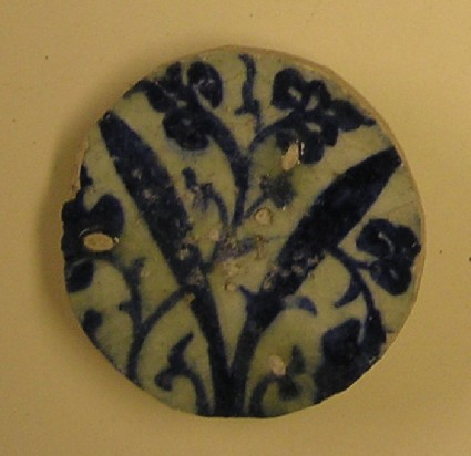 Fragment with flowers